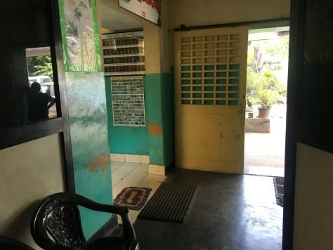 Dissanayake Ayurvedic Hospital: Lobby