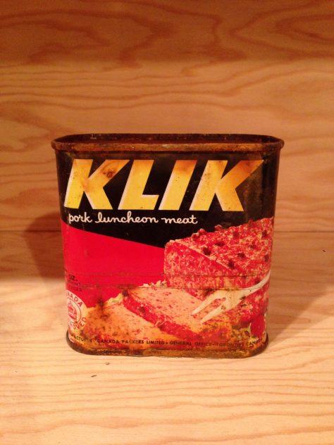 Klik, canned meat