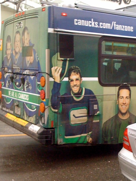 Dave featured in Canucks marketing campaign