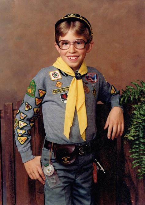 #daveo50 (cub scout) ~ 1981 / Surrey, BC, Canada