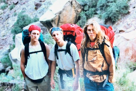 Grand Canyon –3 guys and their packs