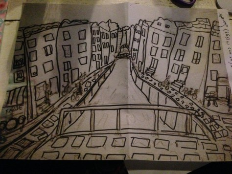 Greetz from Elsewhere: Re: Amsterdam canals – be sure to jot down the name (pencil and marker on paper)