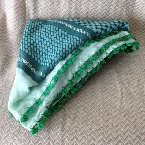 Hats: Oman, keffiyeh (or kufiya), green –acquired Muscat