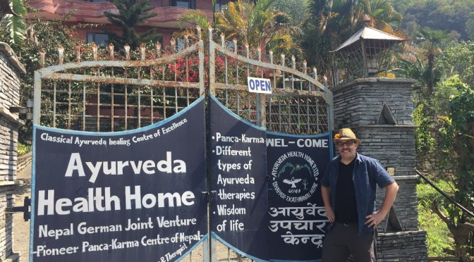 Rest in Peace to Ayurveda Dr Rishi in Nepal