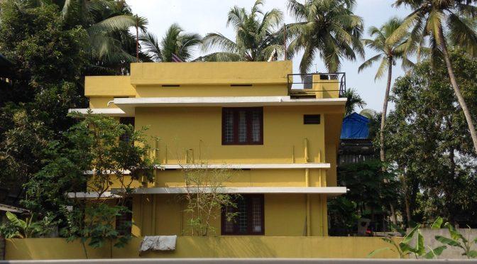 Kerala Field Notes: painting, rupees, museum, specs, wedding etc