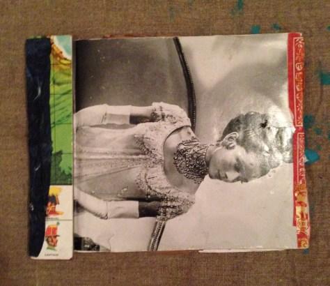 Scrapbook: Jamaica / ephemera + musings + lyrics, 2013 (Audrey Hepburn in War and Peace cover)