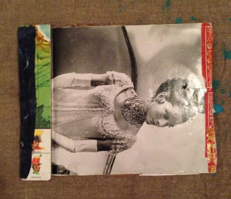 Scrapbook: Jamaica / ephemera + musings + lyrics, 2013 (Audrey Hepburn in War and Peace cover)