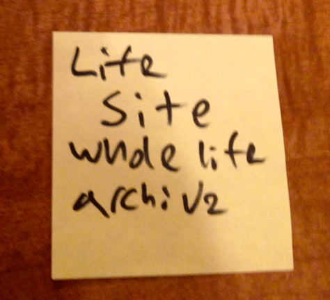 life site whole life archive