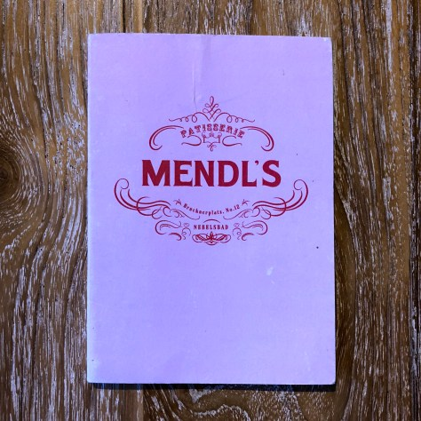 MENDL's from Wes Anderson's Grand Budapest Hotel movie