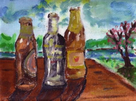 Bottles – Gravelly Beach #6