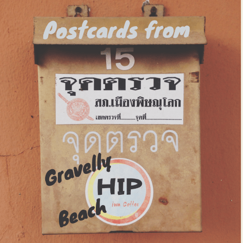 Postcards from Gravelly Beach – Hip Inn, brown