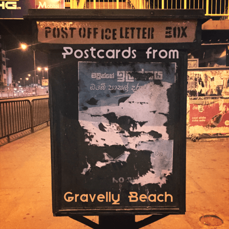 Postcards from Gravelly Beach - Colombo Letter Box