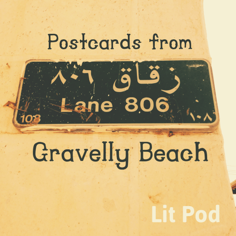 Postcard from Gravelly Beach – Oman Lane sign