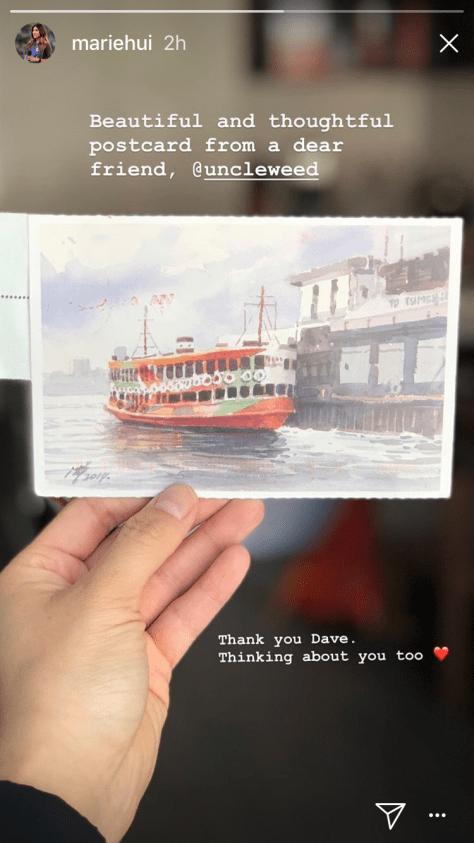 Post'd: Marie, HK, 2018