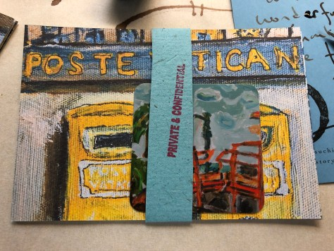 Postcards of Postboxes, Made with Affection