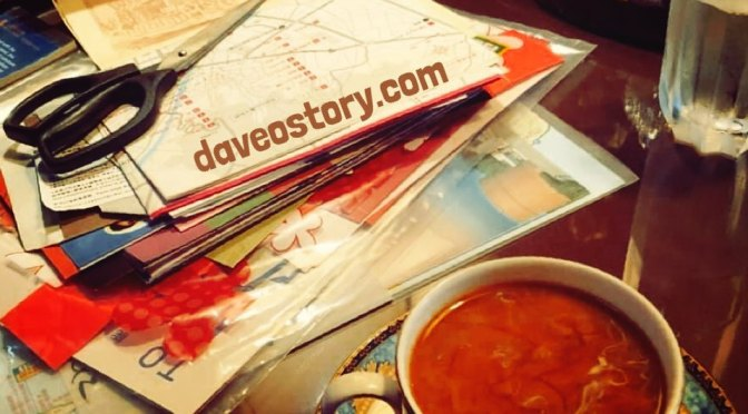Cabbage Rolls &/or Scrapjournals plus Coffee = pleasant times