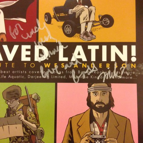"""For Uncle Weed, Much Bass, Mike Watt"" on I Saved Latin from American Laundromat"