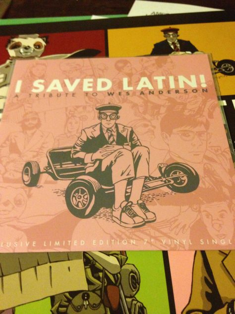 "Bonus 7"" included with ""I Saved Latin"" from American Laundromat Records"