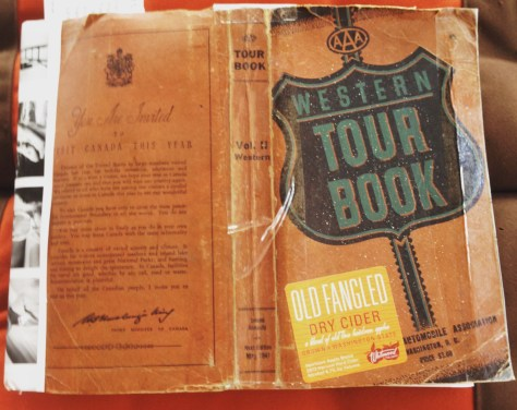 Scrapbook: Fck Stats, Make Art workbook, 2015 (Wester Tour Book, front cover v.2)