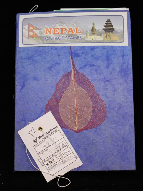 Scrapjournal: Nepal / ephemera (2017)... cover