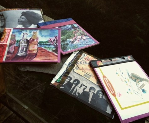 Scrapbooks: assembly / collection made on Galiano, 2015 (?)