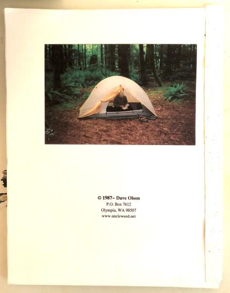 Shoebox, chapbook / backcover