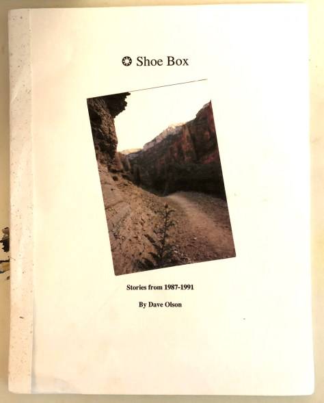 Shoebox, chapbook / front cover