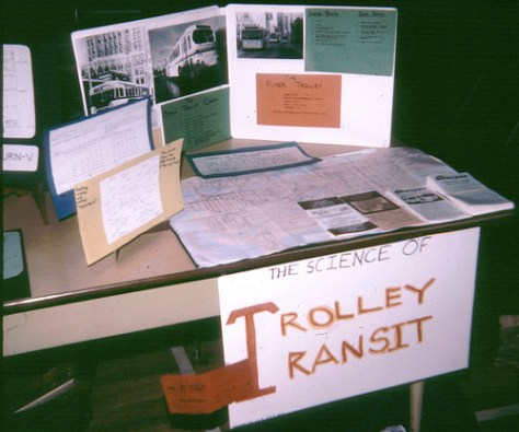 Science fair: Grade 4, Trolley Transit