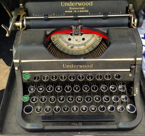 Typerwriter: Underwood (Dave's personal)