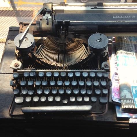 Typewriter: Gabriele at Hip Inn, Phitsanulok Thailand (3)