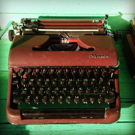 Typewriter: Olympia, in Pe Ell WA (Dave's personal)
