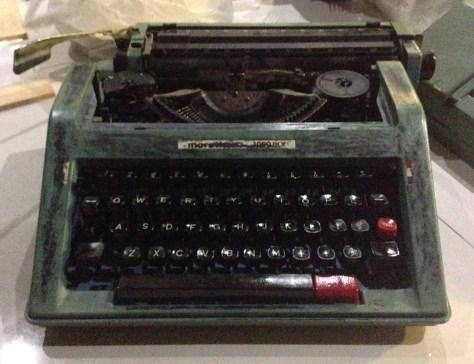 Typewriter: In Karapitiya Sri Lanka (Dave's personal)