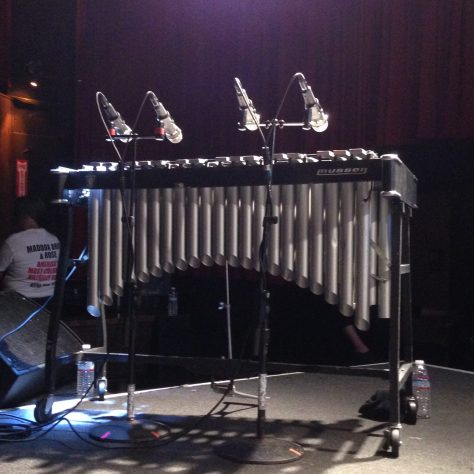 vibraphone / X 40th anniversary tour/show at The Independent in San Francisco