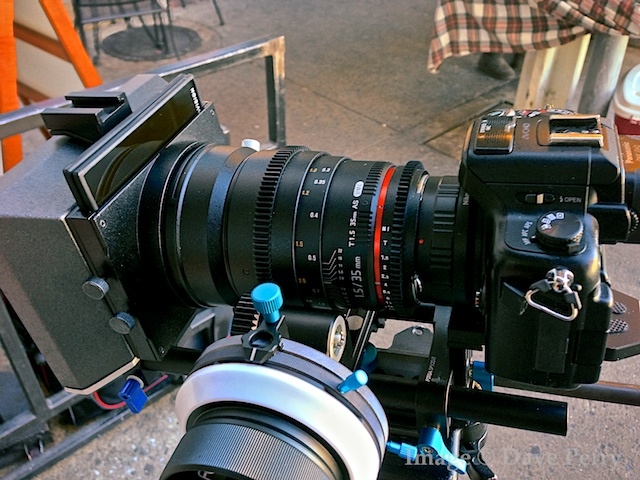 GH2 with 35mm T1.5 Rokinon Cine Lens