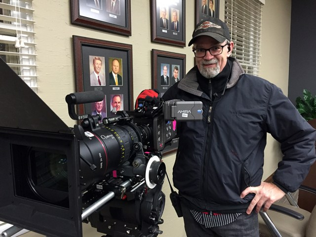 """Cinema lenses give a cinematic look. On set of """"Believe"""" with Arri Amira and Angenieux-Optimo 24-290mm T2.8-Zoom. An Amalgamation Pictures film, to be released Christmas 2016."""