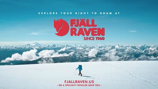 Fjallraven Commercial Voice Over