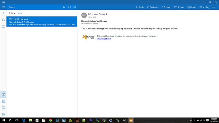 Windows 10 Mail
