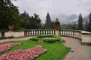 Garden at Linderhof
