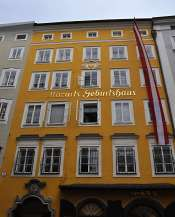 Mozart's Birthplace and Home of 17 Years