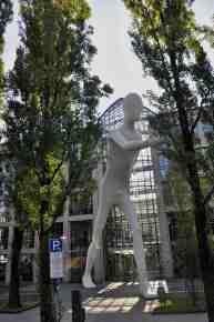 Walking Man - 50 Feet Tall - Munich