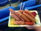 Mixed Hot Dog Plate