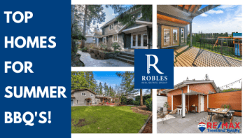 summer bbq has never been better with these homes for sale in Langley