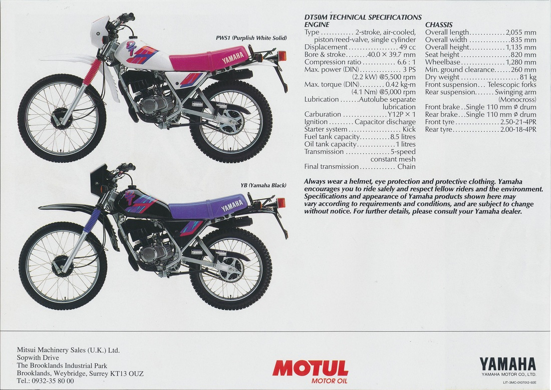 Yamaha Dt 80 Lc And Yamaha Dt 80 Lc2 Service Manual German