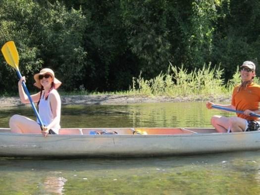 Kerry dave canoe