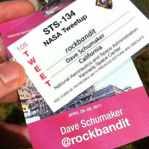 Nasa credentials