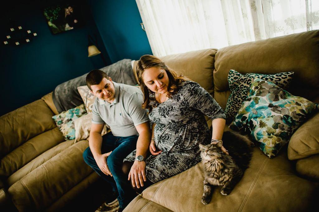 Unposed Maternity Photos