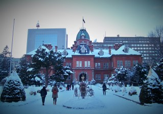The old Hokkaido Prefectural Government Building