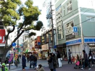 The neighborhood around Tsutenkaku