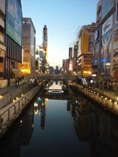 Osaka, Dotombori at Dawn