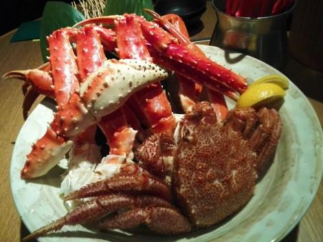 Crabs. Delicious, delicious crabs.